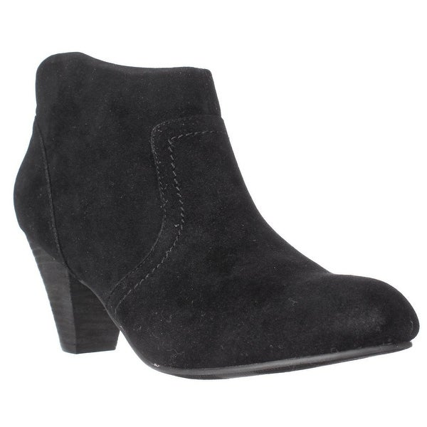 XOXO Aldenson Western Ankle Booties, Black