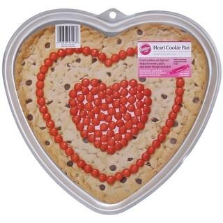 "Giant Cookie Pan-Heart 11.5""X10.5""X.75"""