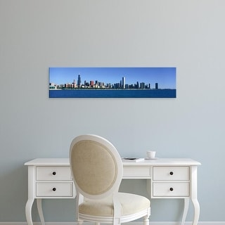Easy Art Prints Panoramic Images's 'Panoramic view of Chicago Harbor, Chicago, IL' Premium Canvas Art