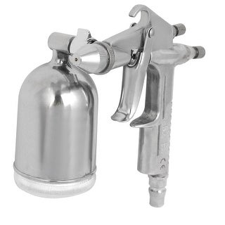 K-3 0.5mm Nozzle Spray Gun Sprayer Paint Tool Silver Tone
