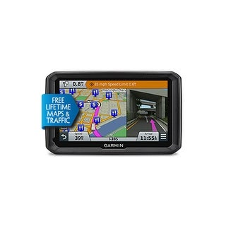Garmin Dezl 770LMTHD 7-inch Touch Screen GPS w/ Customized Truck Routing