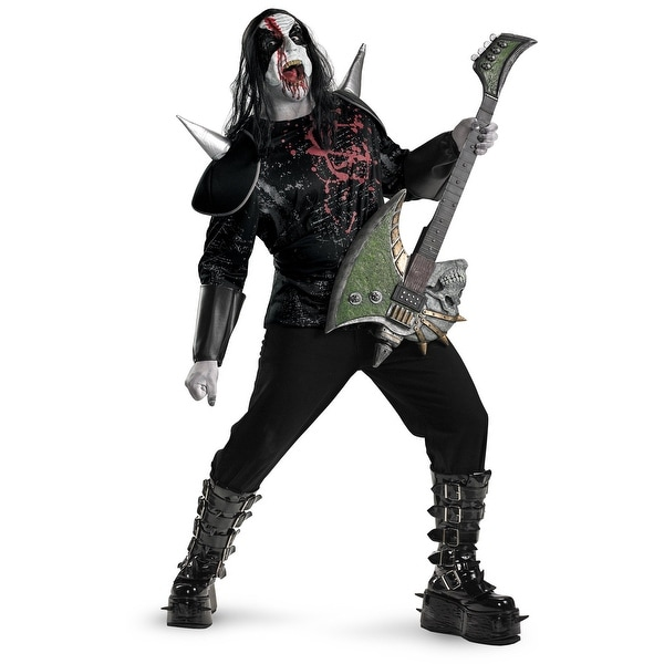 Metal Mayhem Plus Adult Costume