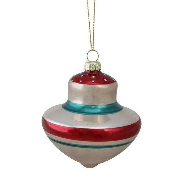 northlight 32623007 retro christmas onion glass christmas ornament