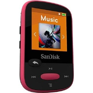 Sandisk Sdmx28-016G-A46r Clip Sport Plus Mp3 Player With Bluetooth