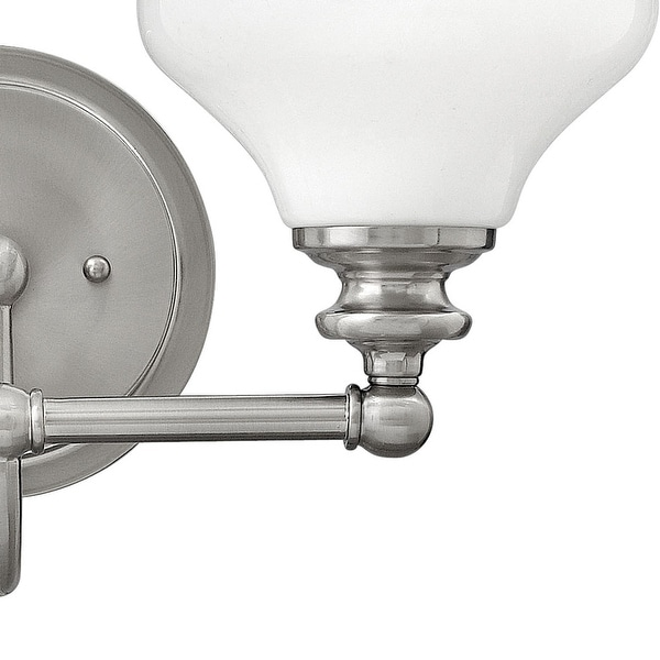 Hinkley Lighting Ainsley 2 Light Bathroom Wall Light