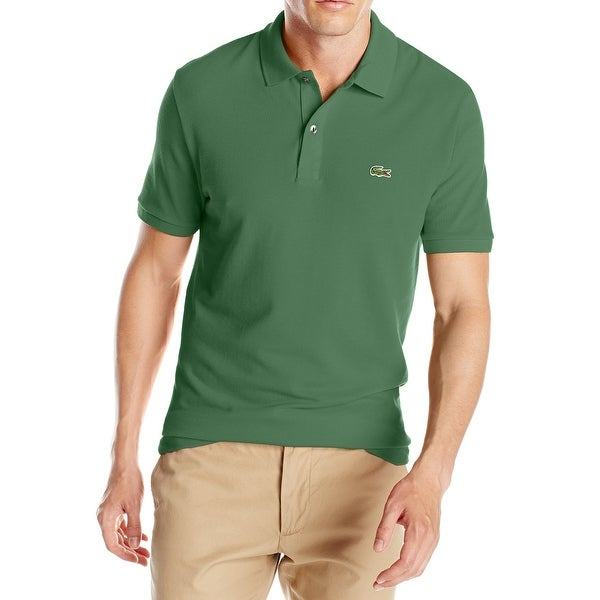 detailed look 02133 4afc2 Shop Lacoste NEW Green Mens Size XL Embroidered Logo Pull ...