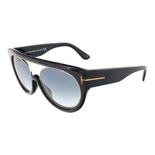 Tom Ford FT0360/S 01B ALANA Black/Gold Oval sunglasses