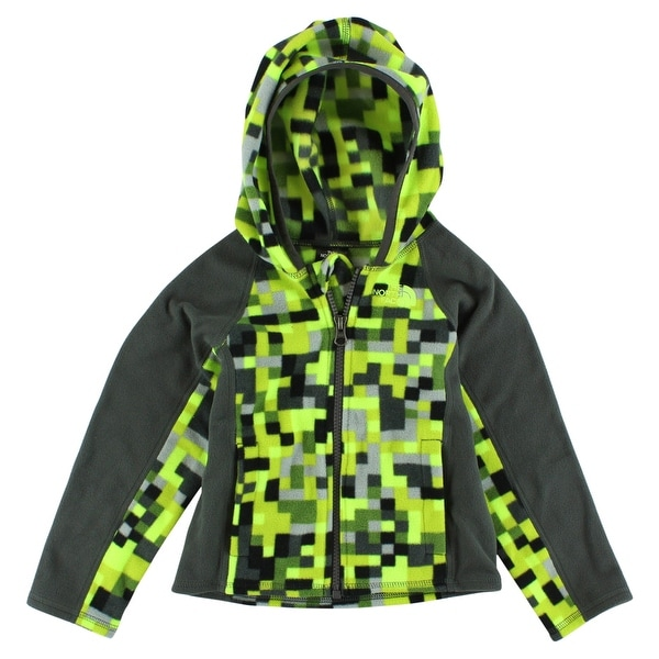 cb3757840 The North Face Baby Boys Glacier Full Zip Hoodie Highlighter Yellow -  highlighter yellow/charcoal grey/black