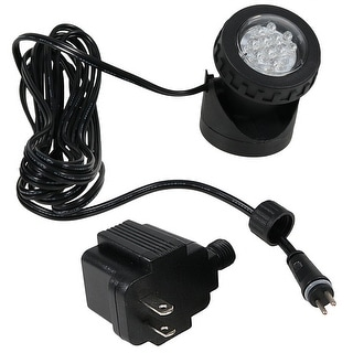 Sunnydaze Submersible Electric LED Light Kit with Transformer, Size Options Available