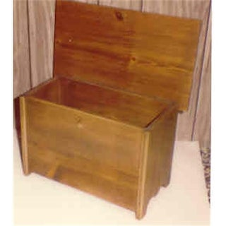 THE PUZZLE-MAN TOYS Functional Wooden Furniture - Small Chest -