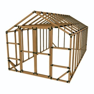 10X20 E-Z Frame Greenhouse or Storage Shed Kit