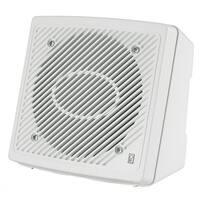 "PolyPlanar 5.25"" Premium Enclosed Flush 2-Way Marine Speaker, Pair - White"