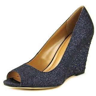 Style & Co Cecelie Open Toe Canvas Wedge Heel