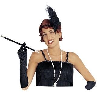 Sequin Black Long Flapper Cigarette Holder Accessory