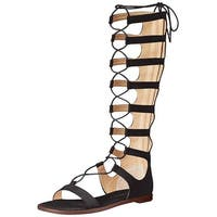 Chinese Laundry Womens Galactic Suede Open Toe Casual Gladiator Sandals