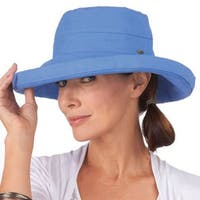 Women's Protective Big Brim Cotton Hat