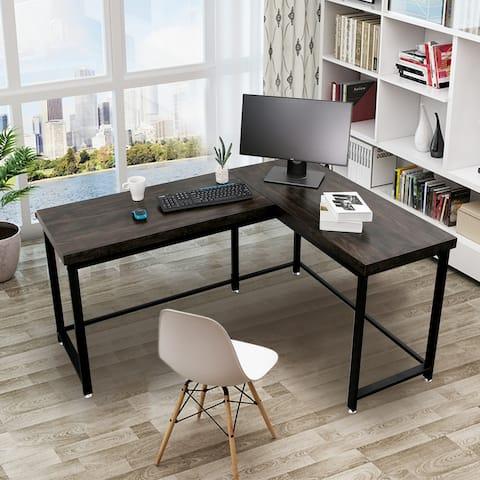 Home Office Desks Modern Gaming Desk Corner Desk Industrial L-shaped Desk