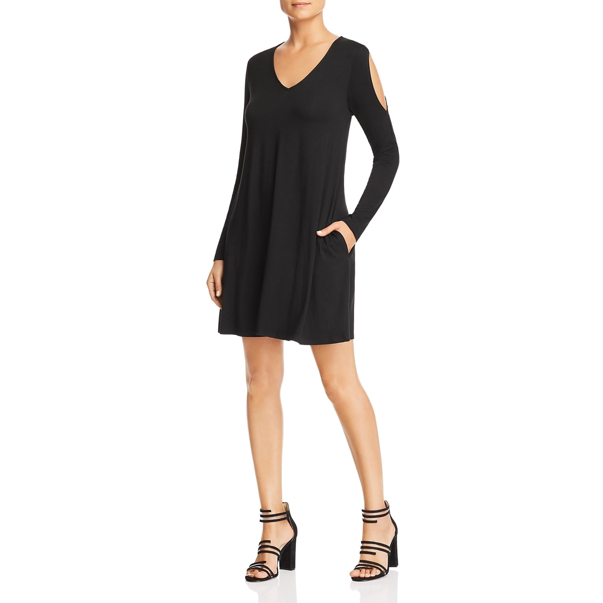 Robert Michaels Womens Cold Shoulder Printed Daytime Casual Dress BHFO 8816