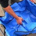 Sunnydaze Folding Utility Wagon Garden Cart, 150 Pound Weight Capacity - Multiple Colors - Thumbnail 28