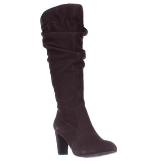 Hot in Hollywood 353581 Knee High Slouch Boots - Chocolate
