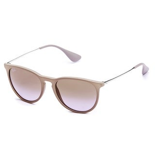 Ray-Ban Women's Erika Classic Sunglasses (Brown/Silver - Brown/Violet Gradient)