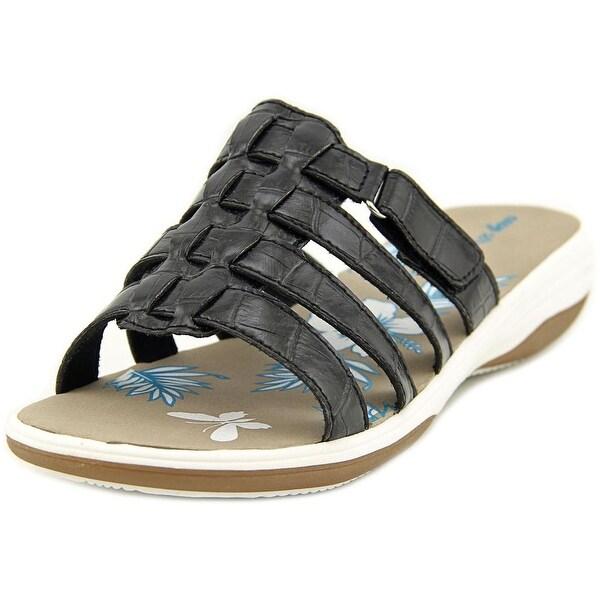 Easy Street Labelle W Open Toe Synthetic Slides Sandal