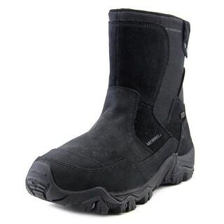 Merrell Polarand Rove Zip Waterproof Men Round Toe Leather Hiking Boot