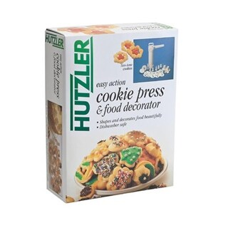 Hutzler 12-696 Easy Action Cookie Press Floor Display (12 pack)