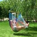 Sunnydaze Mayan Hammock Chair with Wood Spreader Bar - Thumbnail 5