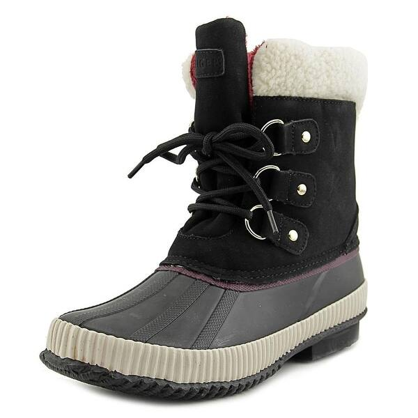 Tommy Hilfiger Womens Ebonie Closed Toe Mid-Calf Cold Weather Boots