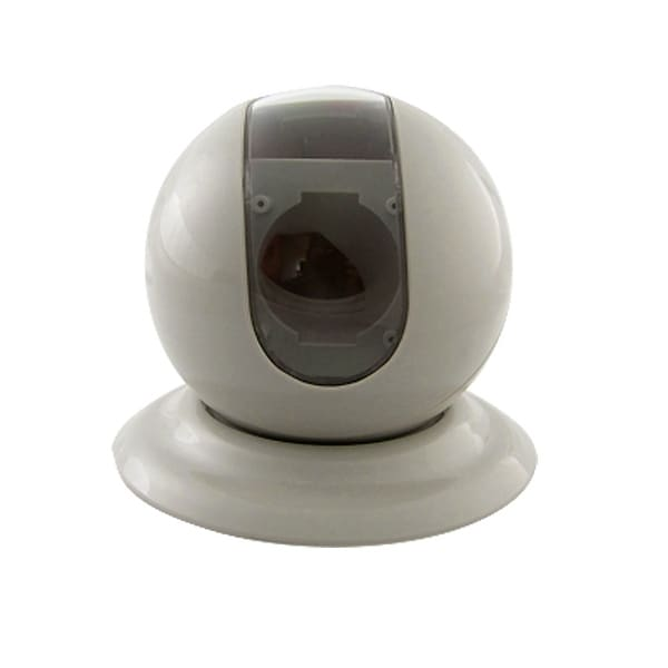 Off White Plastic Dome Case for 4 Diameter CCD Camera