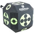 Elkton 18-Sided 3D Cube Archery Target Constructed with Rapid Self Healing XPE Foam Perfect Reusable Target for all Arrow Types - Thumbnail 0