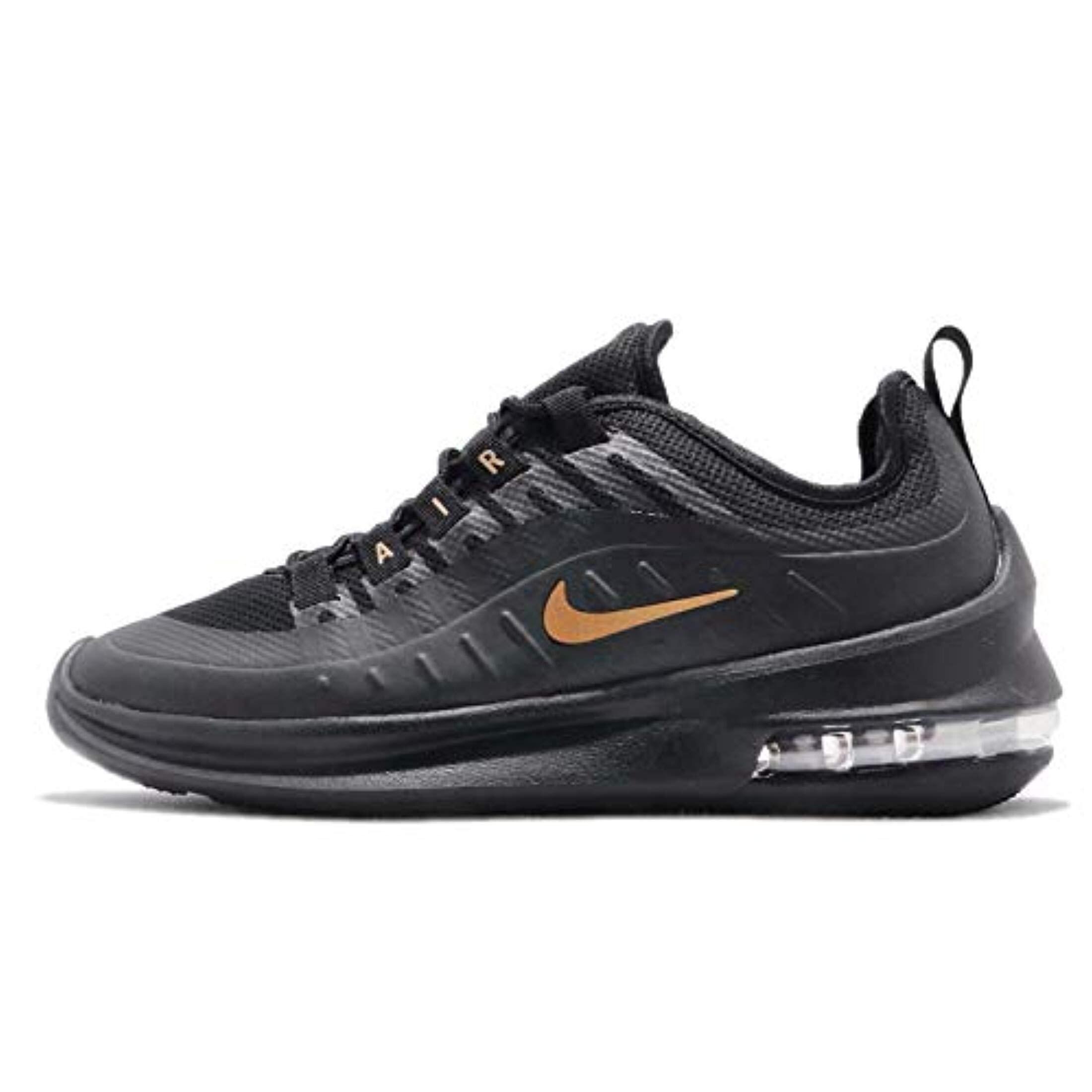 Nike Women's Air Max Axis Running Shoe, Black/Metallic Gold