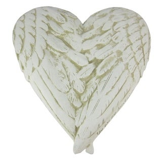 You Give My Heart Wings Marble Look Wall Plaque Lovers