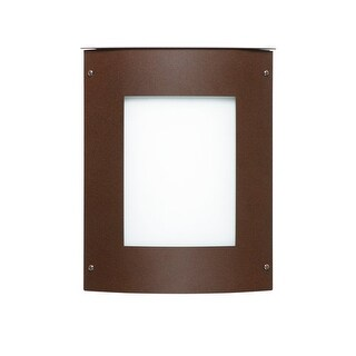 Besa Lighting 105-842007 Moto 1 Light ADA Compliant Outdoor Wall Sconce with Whi