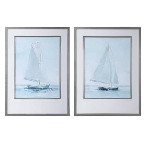 Uttermost Seafaring Framed Prints (Set of 2)