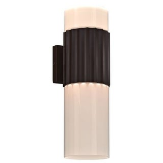 "PLC Lighting 31742 2 Light 5"" Wide ADA Compliant Outdoor Wall Sconce from the Outdoor Wallyx Collection"