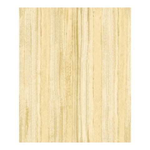 Donella Yellow Stripe Wallpaper - 21 x 396 x 0.025
