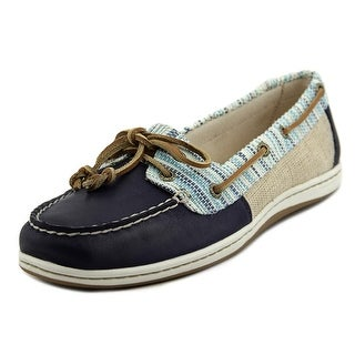 Sperry Top Sider Firefish Raff Women Moc Toe Leather Boat Shoe