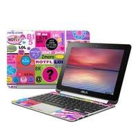 Juleez AFCB-BFFTALK Asus Flip Chromebook Skin - BFF Girl Talk
