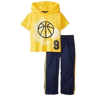 Little Rebels Graphic Short Sleeves Pant Outfit - 4T