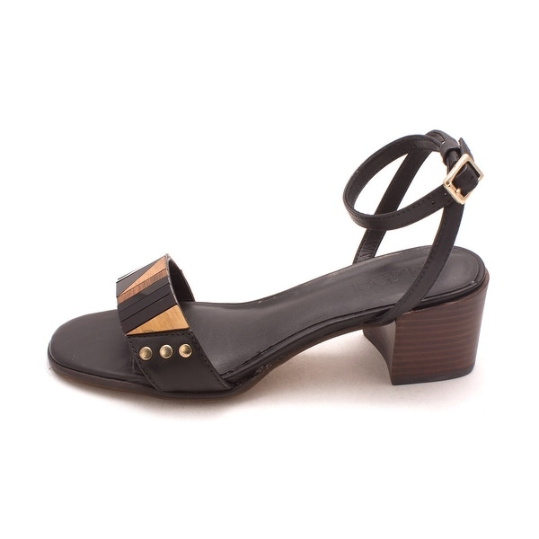 M4DE Womens Summer Leather Open Toe Casual Ankle Strap Sandals