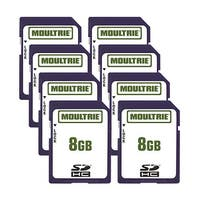 Moultrie 8GB SD Memory Card (8-Pack) 8GB SD Memory Card