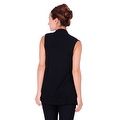 Simply Ravishing Women's Basic Sleeveless Open Cardigan (Size: Small-5X) - Thumbnail 9