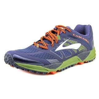 Brooks Cascadia 11 Men Round Toe Synthetic Multi Color Trail Running