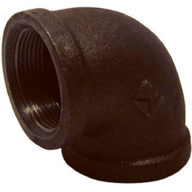 PanNext B-L9007 90-Degree Equal Elbow 3/4, Black