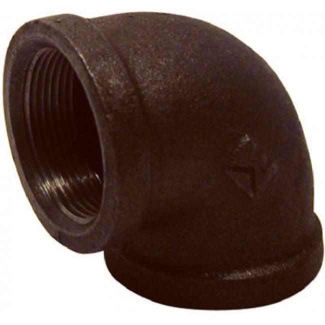 PanNext B-L9020 90-Degree Equal Elbow 2, Black