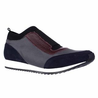 Aerosoles Pantheon Laceless Slip On Fashion Sneakers - Blue