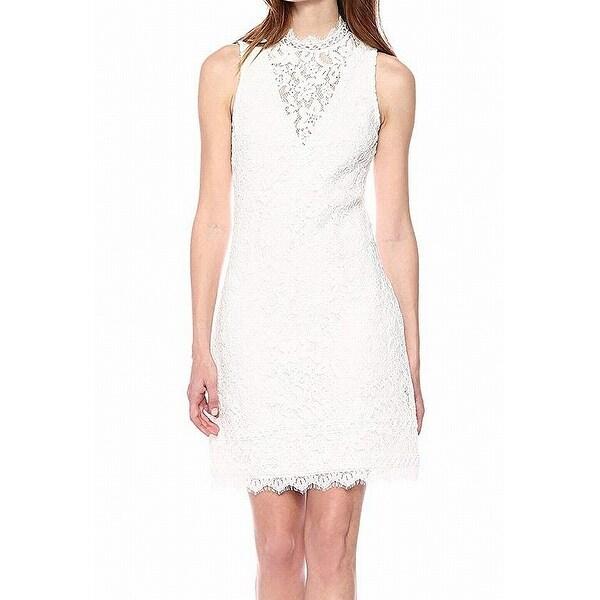 b5650d781d4 Shop Kensie Floral Lace Sleeveless Women s Shift Dress - Free ...