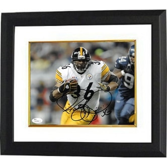 5af478ed7 Shop Jerome Bettis signed Pittsburgh Steelers 8X10 Photo Custom Framed 36  JSA Hologram T40799 SB XL hori - Free Shipping Today - Overstock - 20686242
